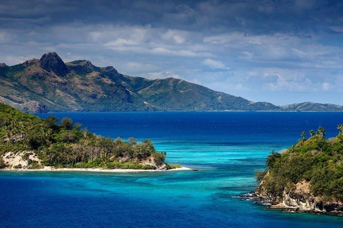 The beautiful Fiji islands